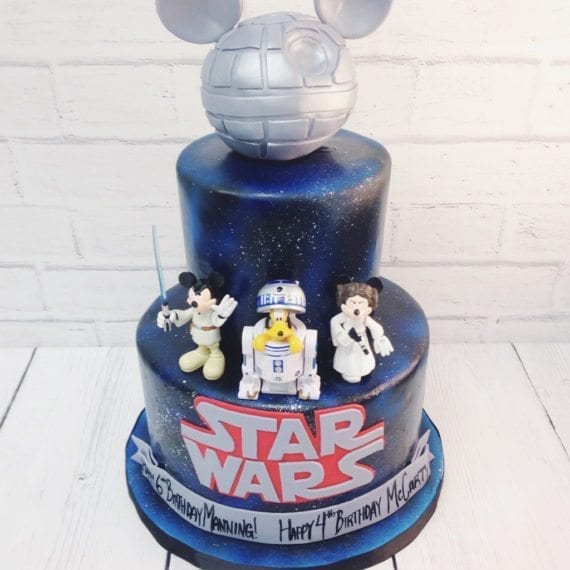 Mickey Star Wars Cake
