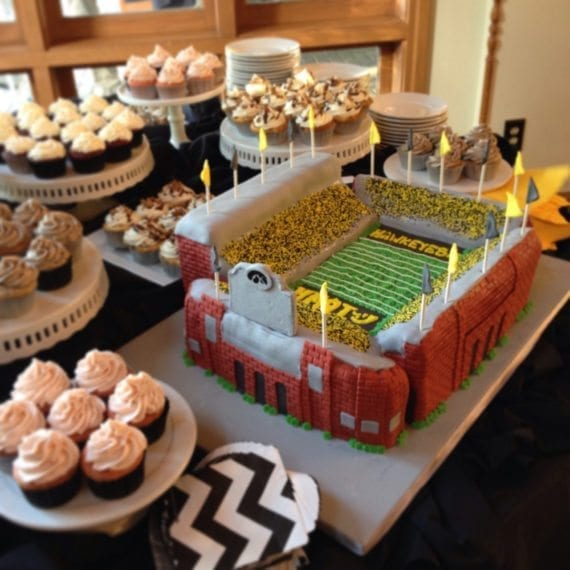 Stadium Groom's Cake