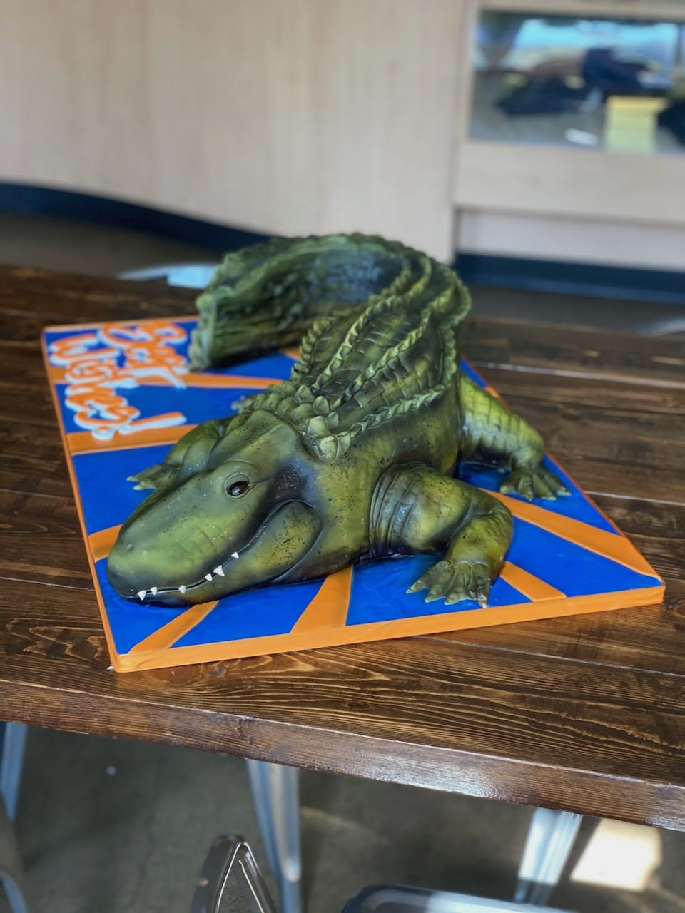 Florida Gators Alligator Cake