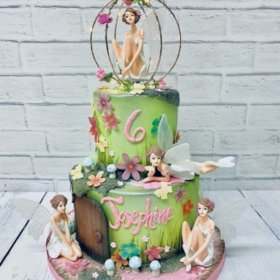 Woodland Fairy Birthday Cake