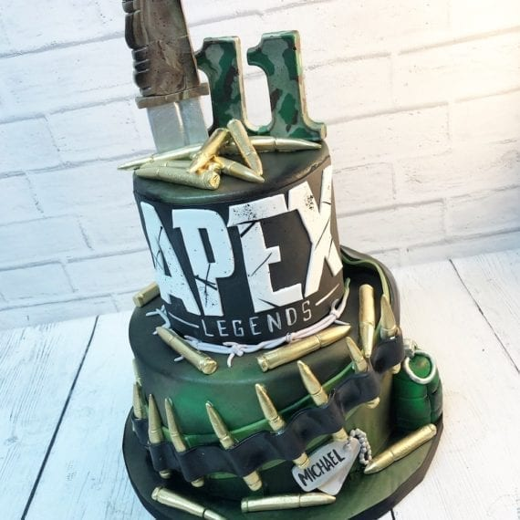 Apex Legends Birthday Cake