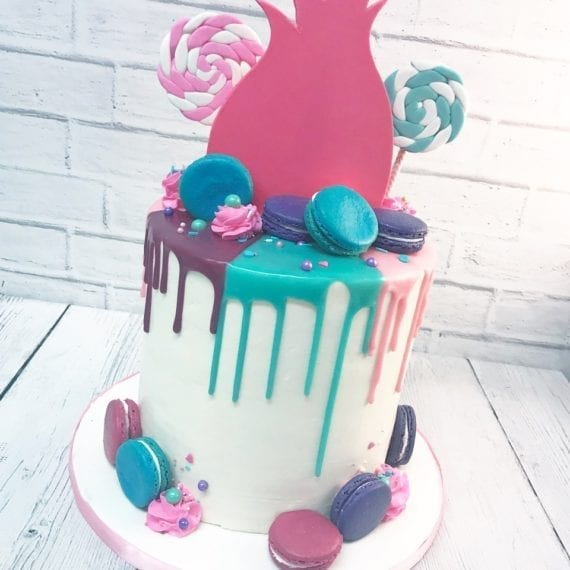 Trolls Colorful Ganache Drips