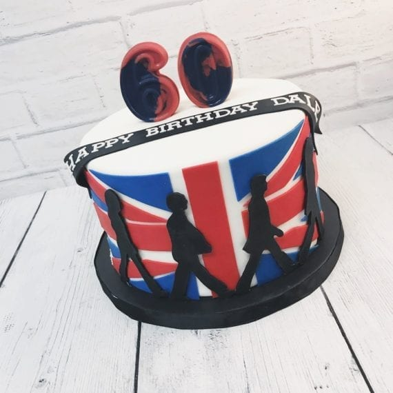 Beatles UK Cake