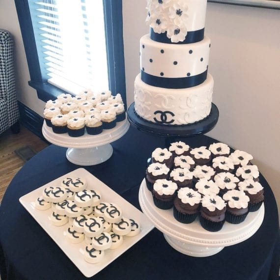 Chanel Cake, Cupcakes & Chocolate Covered Oreos