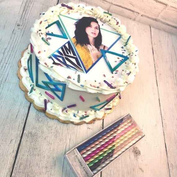 Katy Perry Prism Cake