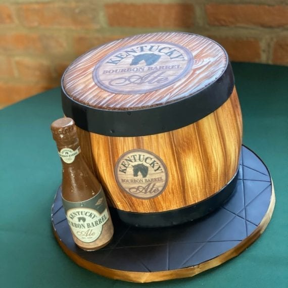 Barrel Groom's Cake